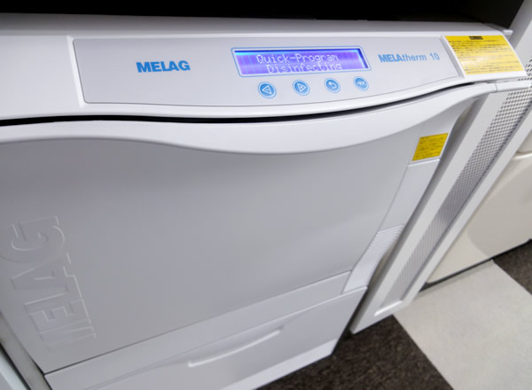 ウォッシャーディスインフェクター:MELAtherm10(MELAG社)